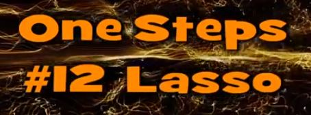 One Step #12 Lasso