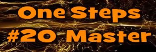One Step #20 Master